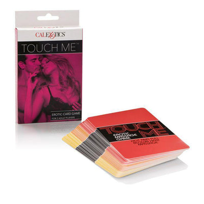 California Exotics - Touch Me Erotic Card Game (White) Games Singapore