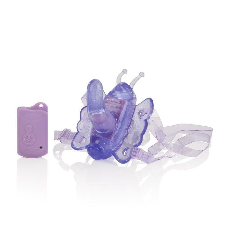 California Exotics - Venus Butterfy Remote Venus Penis G Vibrator (Purple) Remote Control Dildo w/o Suction Cup (Vibration) Non Rechargeable Singapore