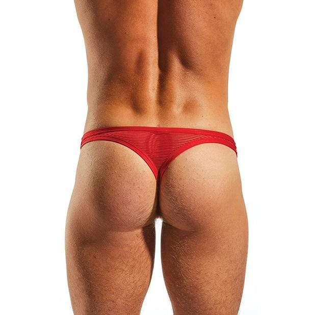 Cock Sox - Sheer Snug Pouch Thong Cupid Underwear S (Red)