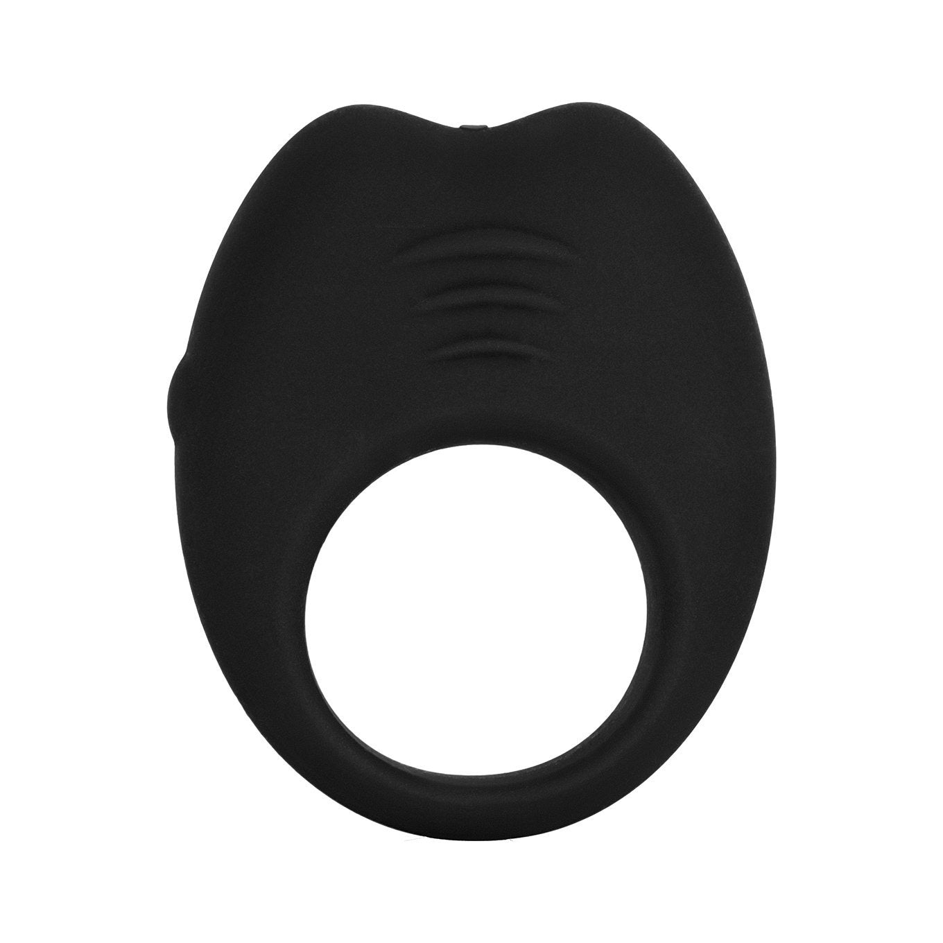 Colt - Rechargeable Silicone Cock Ring (Black) | CherryAffairs Singapore