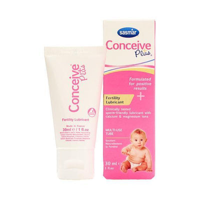 Conceive Plus - Fertility Lubricant Multi-Use Tube 30 ml Sperm Safe Lube Singapore