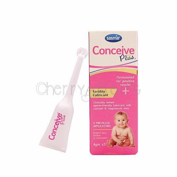 Conceive Plus - Fertility Lubricant Pre-Filled Applicators (4gm x 3) Sperm Safe Lube - CherryAffairs Singapore