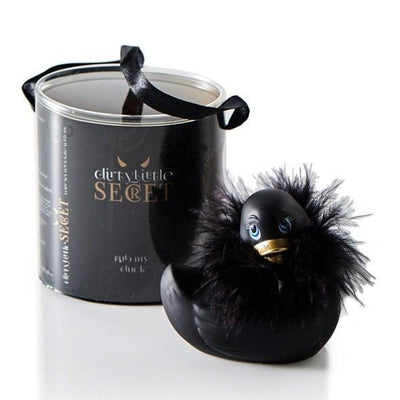 Dirty Little Secret - Rub My Duck Massager (Black) | CherryAffairs Singapore