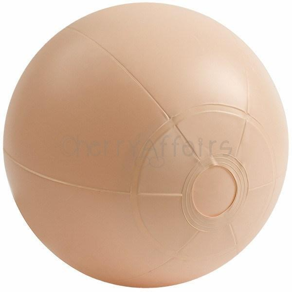 Doc Johnson - E-Z Rider Ball with Plug Strap On with Non hollow Dildo for Female (Non Vibration) - CherryAffairs Singapore