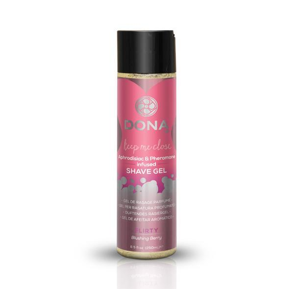 Dona - Pheromone Infused Shave Gel 250 ml (Blushing Berry) | CherryAffairs Singapore