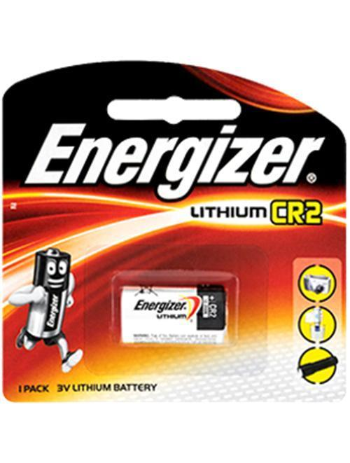 Energizer - CR2 3V Lithium Battery Pack of 1 (Black) Battery Singapore