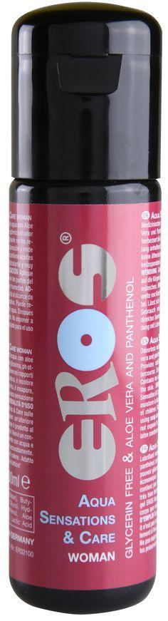 Eros - Aqua Sensations & Care Woman Lubricant 100ml (Lube) Lube (Water Based) Singapore
