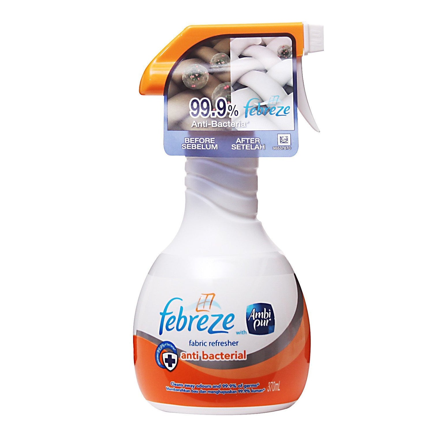 Febreze - Anti Bacterial 370ml | CherryAffairs Singapore