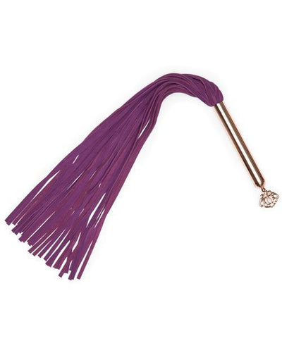 Fifty Shades Freed - Cherished Collection Suede Flogger (Purple) Flogger Singapore