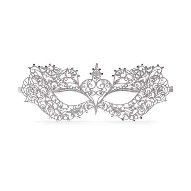 Fifty Shades of Grey - Anastasia Masquerade Mask (Silver) | CherryAffairs Singapore
