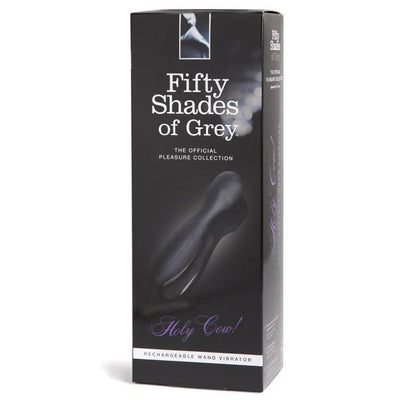 Fifty Shades of Grey - Holy Cow! Rechargeable Wand Vibrator | CherryAffairs Singapore