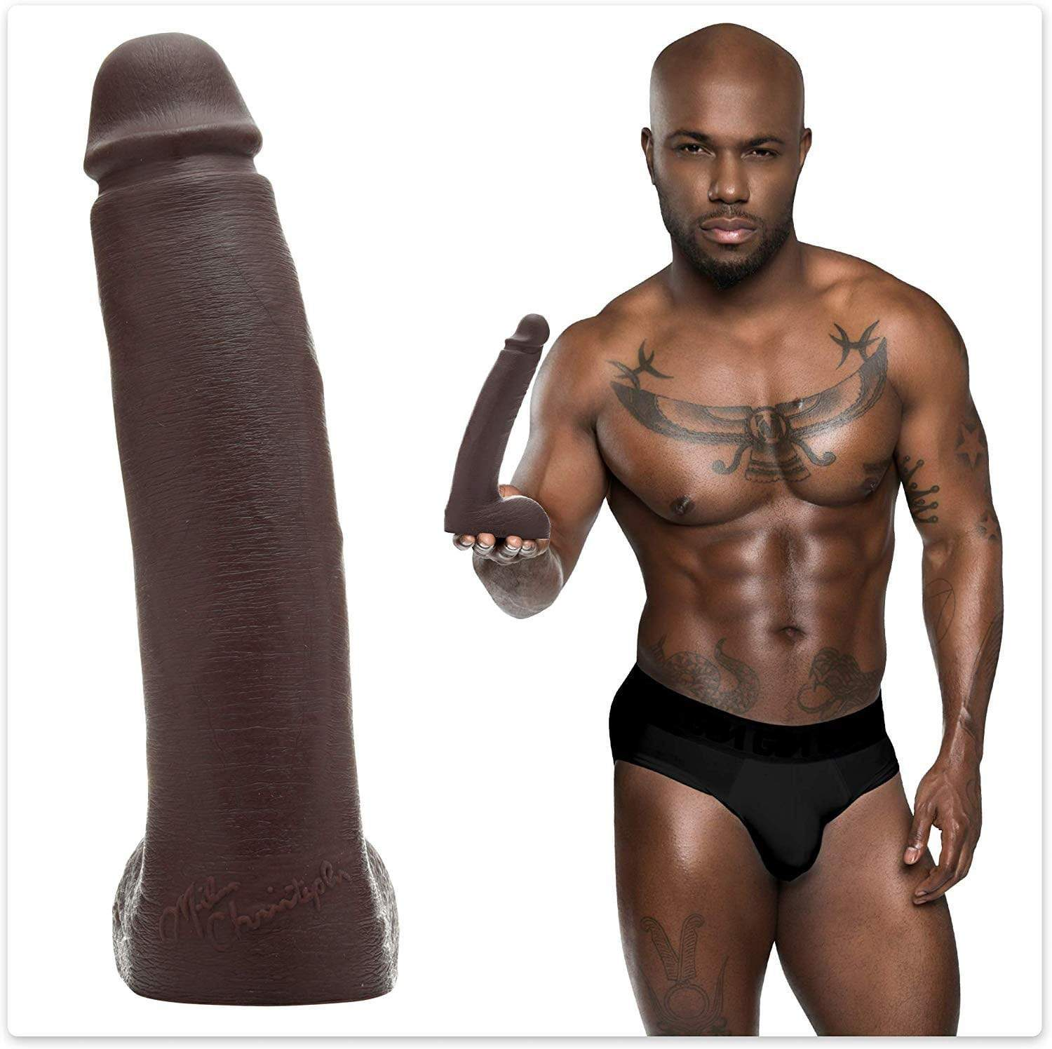 Fleshlight - Fleshjack Boys Milan Christopher Realistic Gay Dildo (Brown) | CherryAffairs Singapore