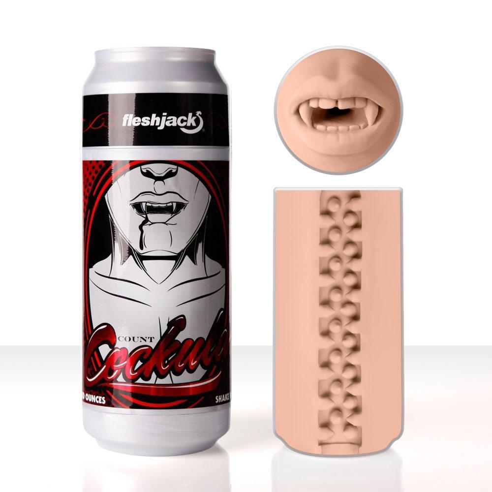 Fleshlight - Fleshjack Count Cockula Masturbator Mouth Masturbator Gay Mouth (Non Vibration) Singapore