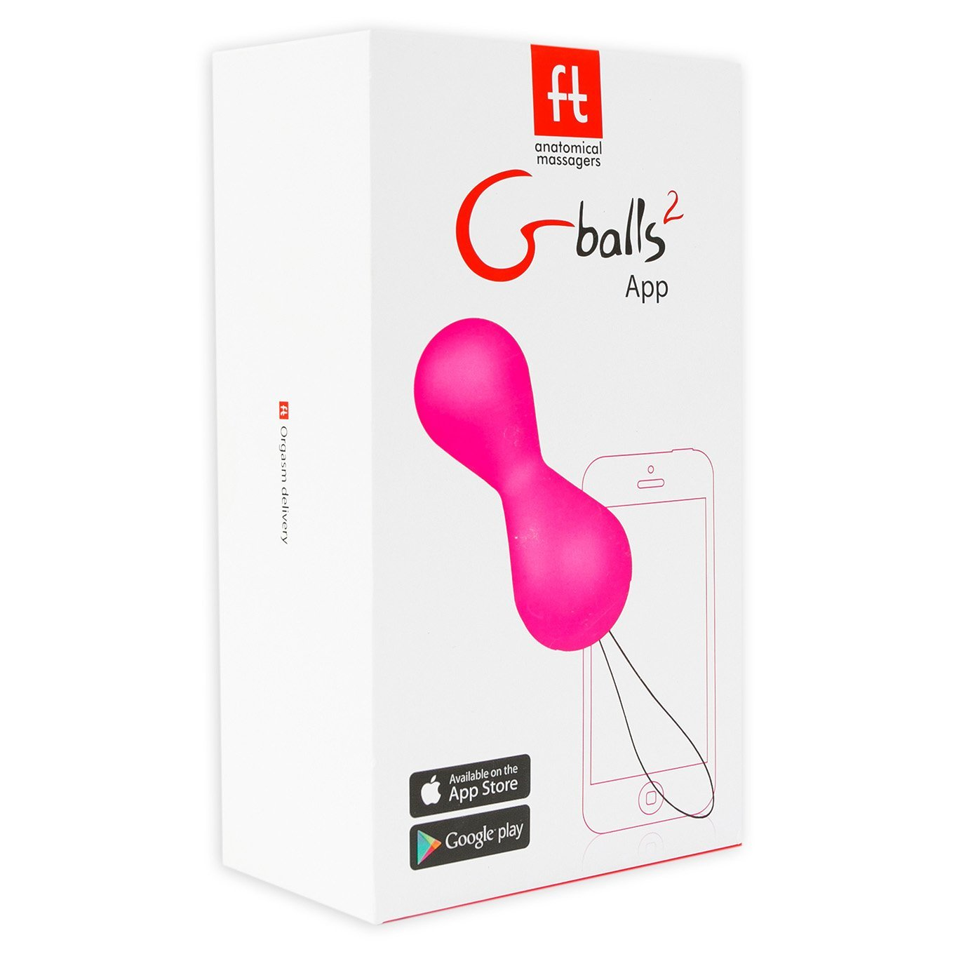 FT London - Gballs 2 App Kegel Balls (Petal Rose) | CherryAffairs Singapore