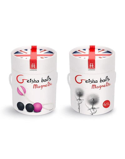 FT London - Geisha Kegel Balls Magnetic (Pink) | CherryAffairs Singapore