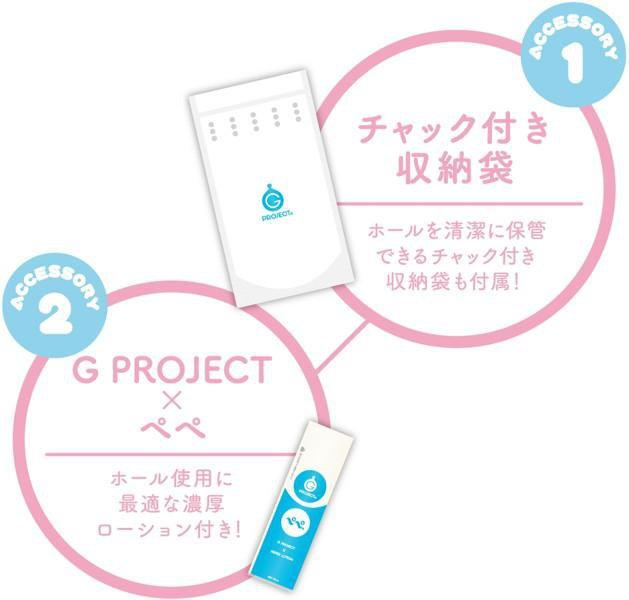 G Project - Fuwa Cyun W Duo Onahole (Multi Colour) | CherryAffairs Singapore