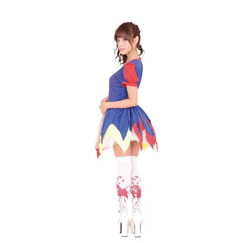 Garaku - Snow White Princess Halloween Zombie Costume (Multi Colour) | CherryAffairs Singapore