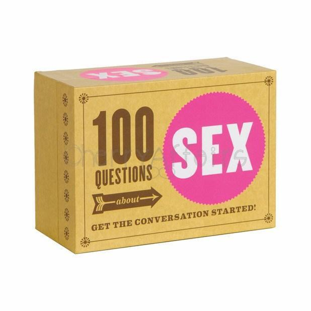 Hachette - 100 Questions About Sex Game Games - CherryAffairs Singapore