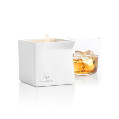 Jimmy Jane - Afterglow Natural Massage Oil Candle (Bourbon) Massage Candle Singapore