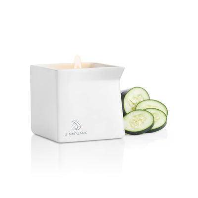 Jimmy Jane - Afterglow Natural Massage Oil Candle (Cucumber Water) Massage Candle Singapore
