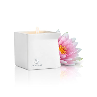 Jimmy Jane - Afterglow Natural Massage Oil Candle (Pink Lotus) | CherryAffairs Singapore