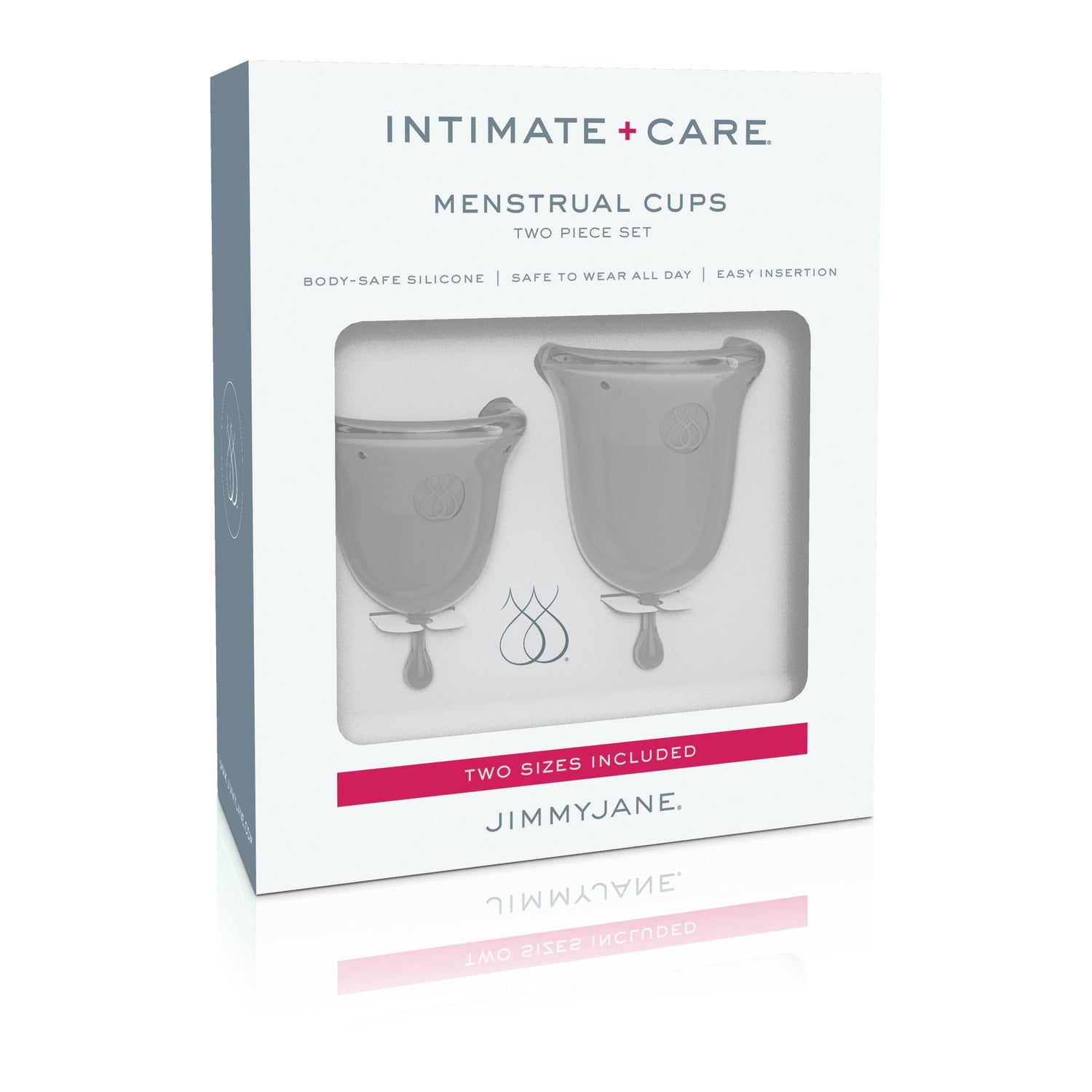 JimmyJane - Intimate Care Menstrual Cups (Clear) | CherryAffairs Singapore