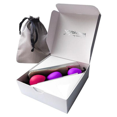 Joy Division - Joyballs Secret Training Kegel Balls Set (Pink/Purple) Kegel Balls (Non Vibration) Singapore
