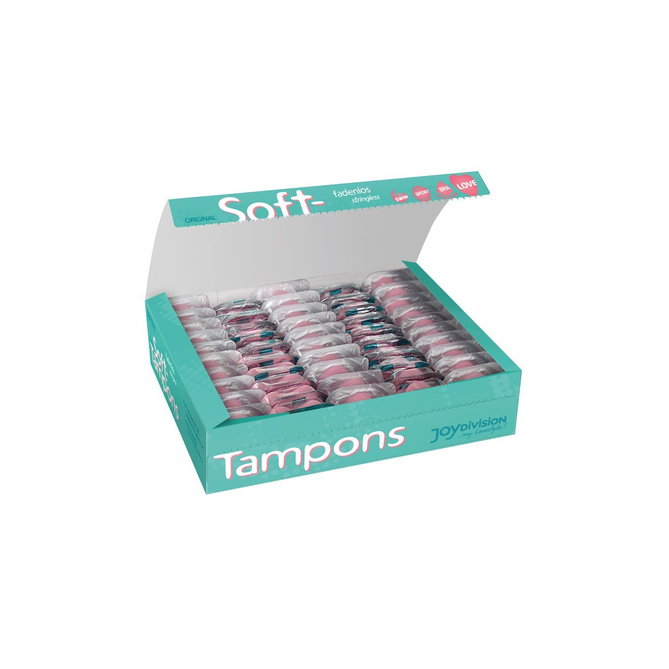 Joy Division - Soft Tampons Mini Pack of 50 | CherryAffairs Singapore