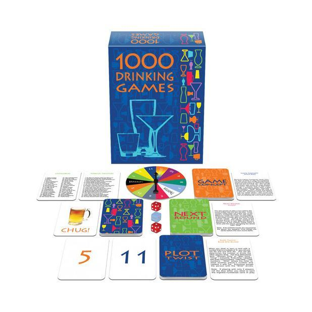 Kheper Games - 1000 Drinking Card Games (Blue) | CherryAffairs Singapore