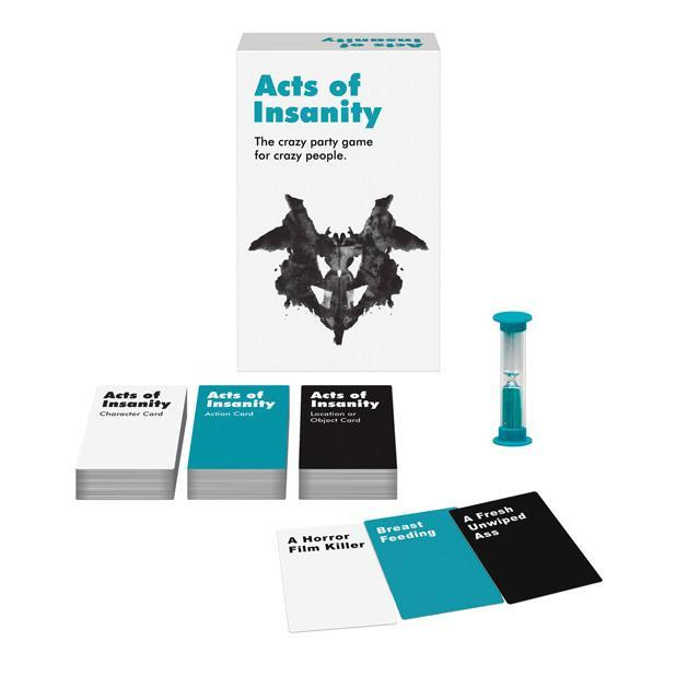 Kheper Games - Acts of Insanity Card Game (White) | CherryAffairs Singapore