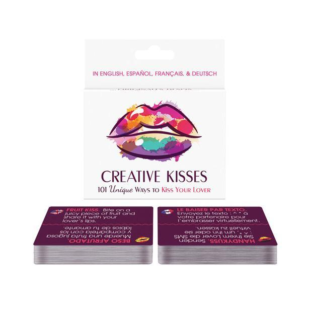 Kheper Games - Creative Kisses Card Game (White) | CherryAffairs Singapore