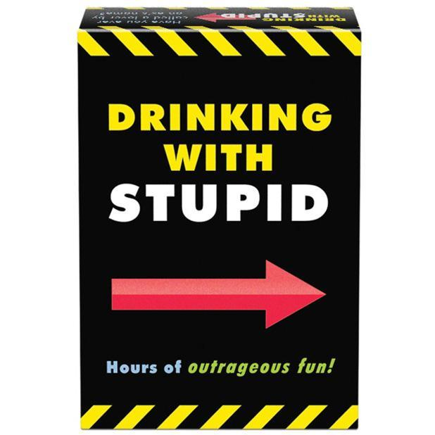 Kheper Games - Drinking with Stupid Drinking Game (Black) | CherryAffairs Singapore