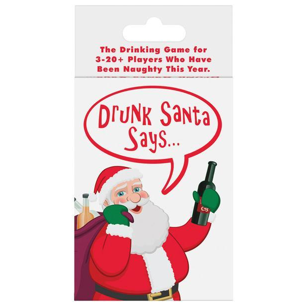 Kheper Games - Drunk Santa Says Card Game (White) Games Singapore