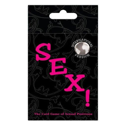 Kheper Games - International Sex! Sexual Position Card Game (Black) Games Singapore