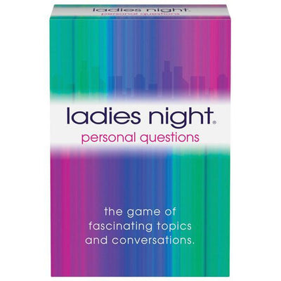Kheper Games - Ladies Night Personal Questions Card Game (White) Games Singapore