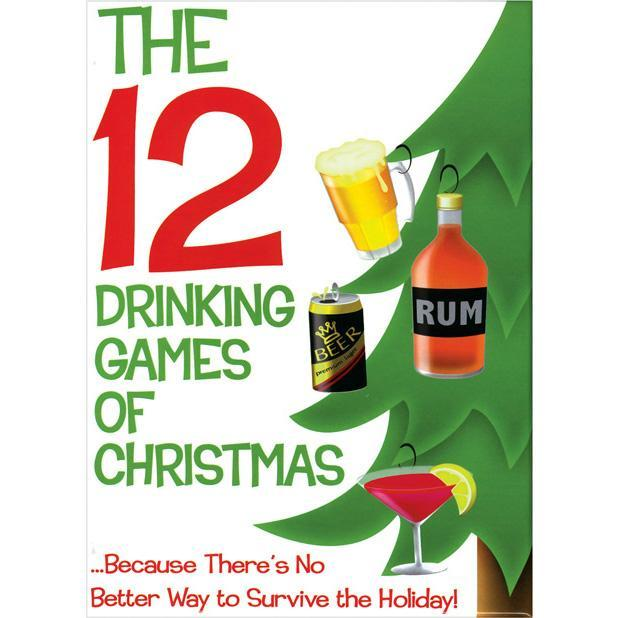Kheper Games - The 12 Drinking Games of Christmas (White) | CherryAffairs Singapore