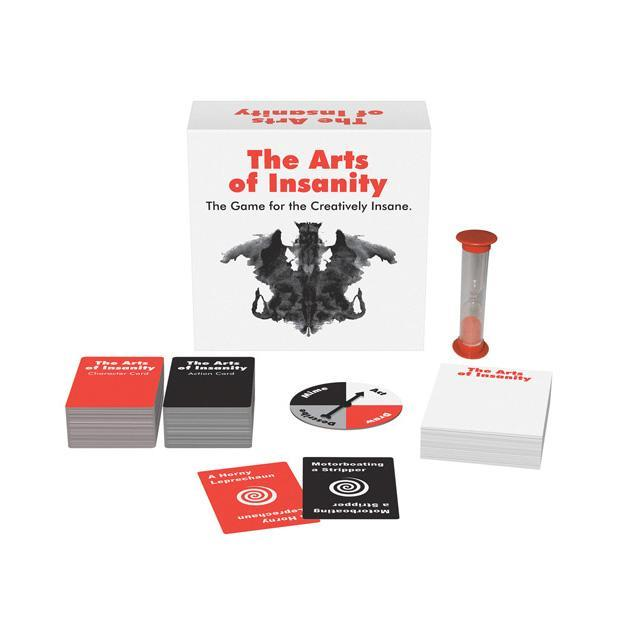 Kheper Games - The Arts of Insanity Card Game (White) | CherryAffairs Singapore