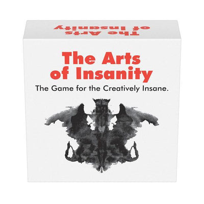 Kheper Games - The Arts of Insanity Card Game (White) Games Singapore