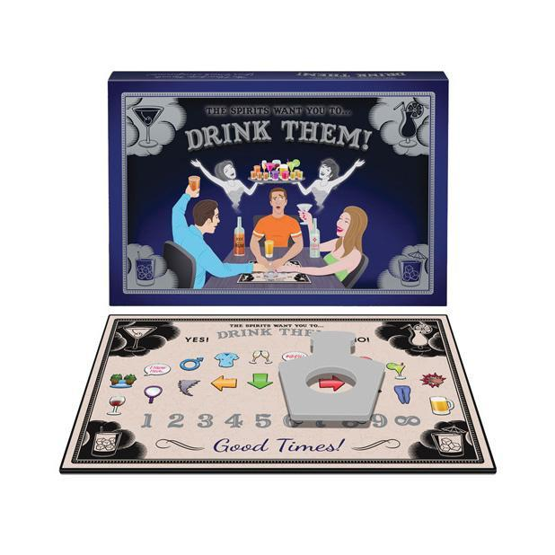 Kheper Games - The Spirits Want You to Drink Them Board Game (Black) Games Singapore