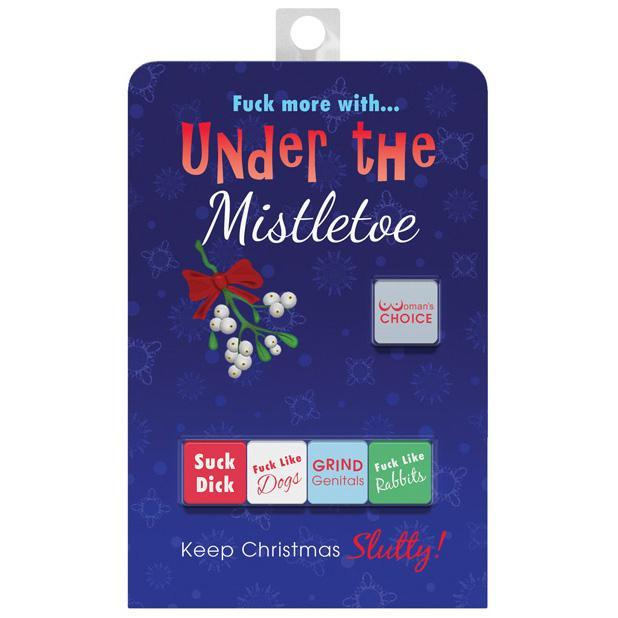 Kheper Games - Under the Mistletoe Dice Game (Multi Colour) | CherryAffairs Singapore
