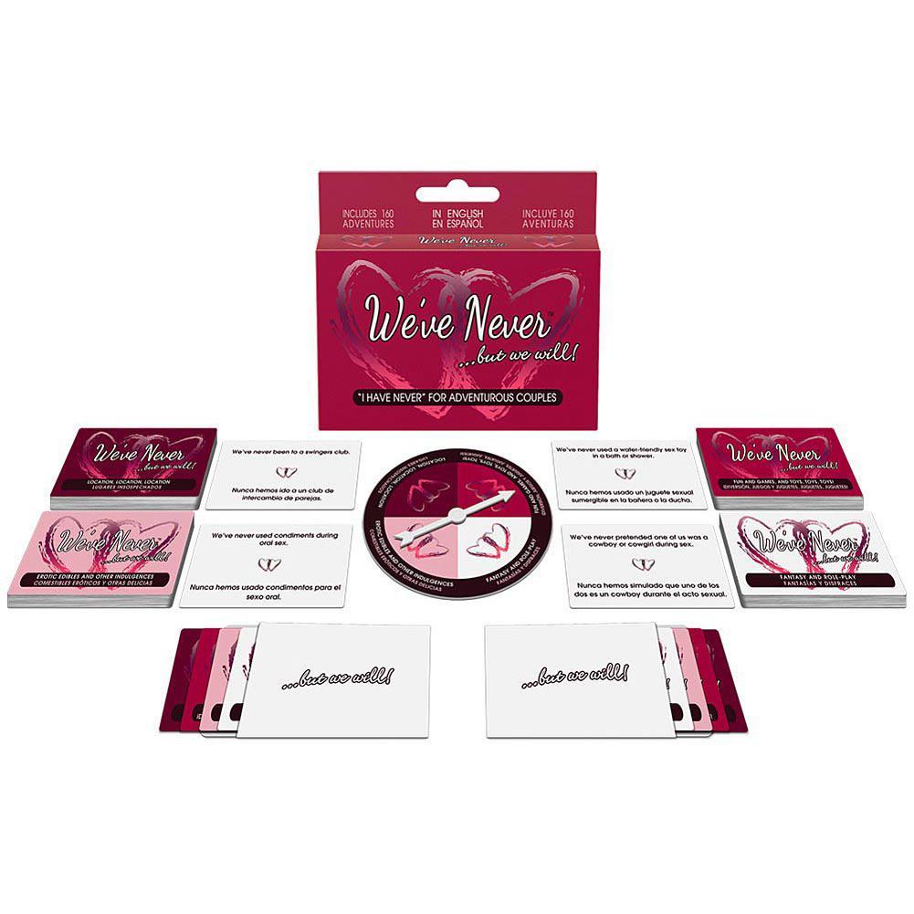 Kheper Games - We've Never But We Will Board Game (Pink) | CherryAffairs Singapore