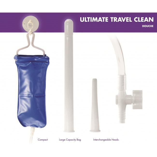 Kinx - Ultimate Travel Cleaning Douche Anal Douche (Non Vibration) Singapore