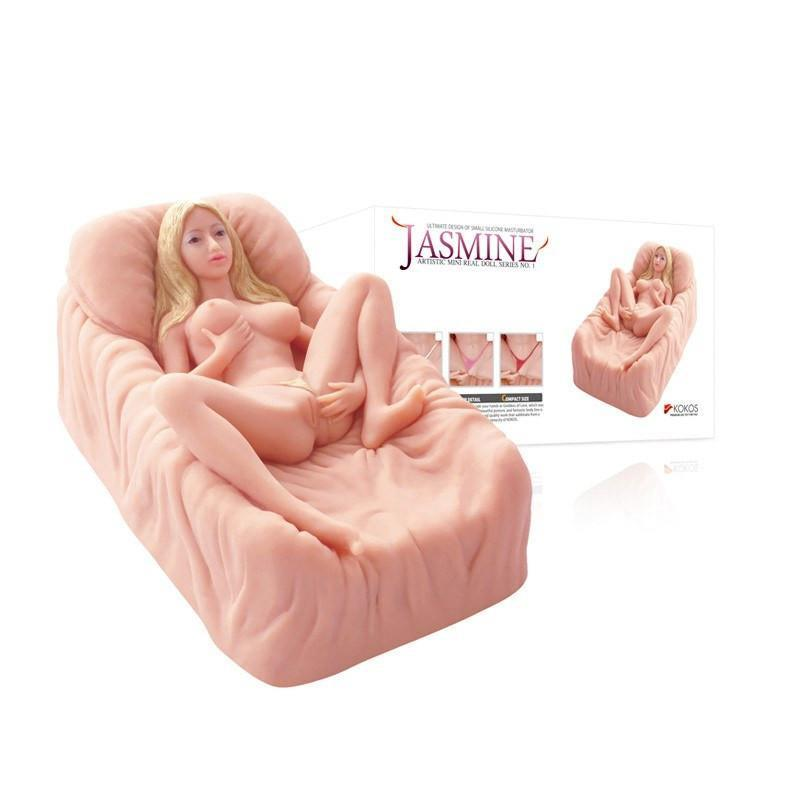 Kokos - Jasmine Mini Doll Meiki (Beige) Doll - CherryAffairs Singapore