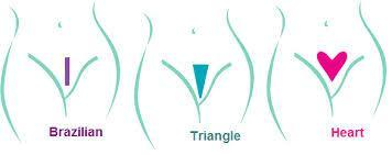 Ladyshape - Bikini Shaving Stencil Pubic Hair Trim (Triangle) | CherryAffairs Singapore
