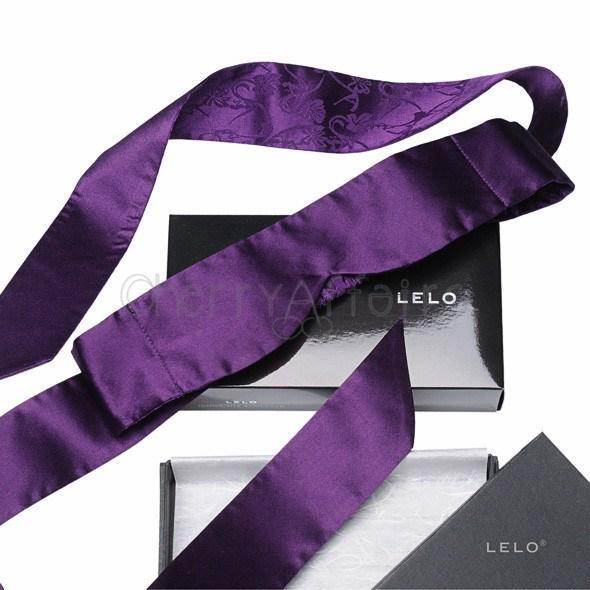 LELO - Intima Silk Blindfold (Purple) | CherryAffairs Singapore