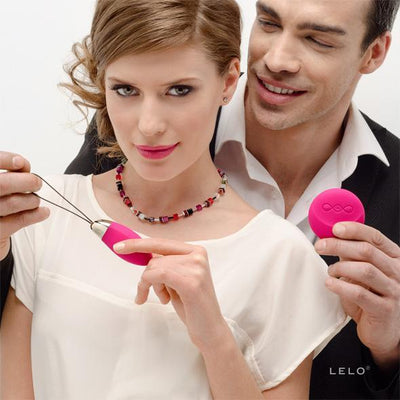 LELO - Lyla 2 Wireless Remote Control Egg Vibrator (Cerise) Wireless Remote Control Egg (Vibration) Rechargeable Singapore