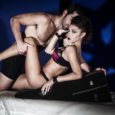 Liberator - Black Label Ramp Sex Furniture (Black) | CherryAffairs Singapore
