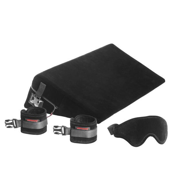 Liberator - Black Label Wedge & Ramp Combo Sex Furniture (Black) | CherryAffairs Singapore