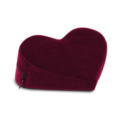 Liberator - Heart Wedge Sex Furniture (Merlot) | CherryAffairs Singapore