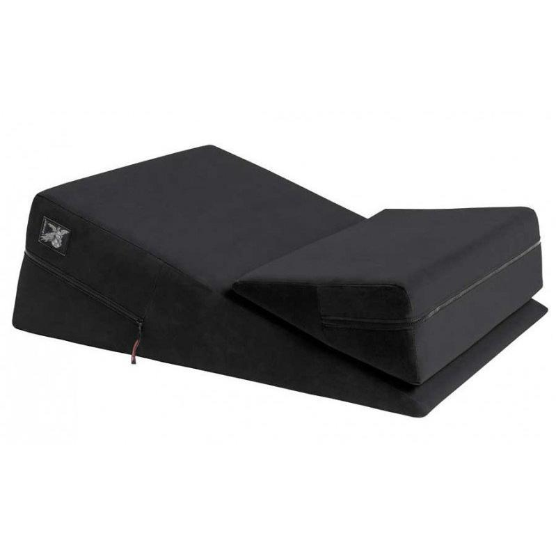 Liberator - Wedge/Ramp Combo Sex Furniture (Black) | CherryAffairs Singapore